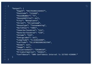 Woningwaarde API - Altum AI